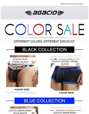 Last Chance to buy your favorite color underwear - Up To 50% OFF!