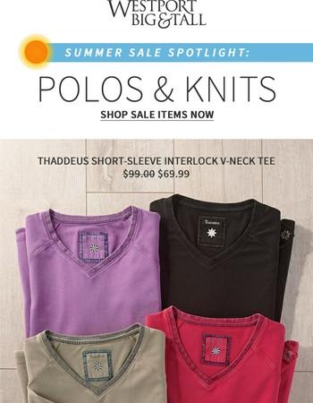 Polos & Knits: Stylish, everyday wear