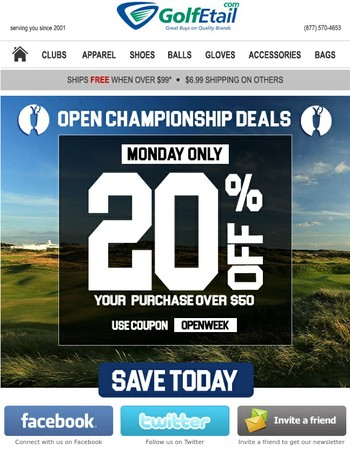 Championship Deal for Championship Week! On sale NOW
