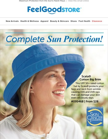 Maximum Protection from the Sun's Harsh Rays