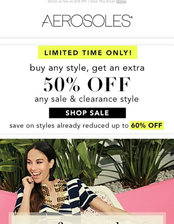 [Last Day] Extra 50% off All Sale Reduced up to 60% off!