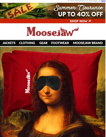 Moosejaw Newsletter