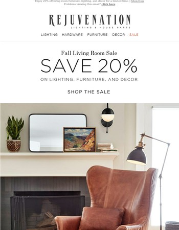 Save Big on Living Room Classics!
