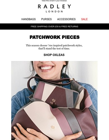 The patchwork trend is back!