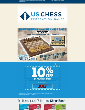 The Millennium ChessGenius Exclusive Chess Computer - Now Shipping from US Chess Sales