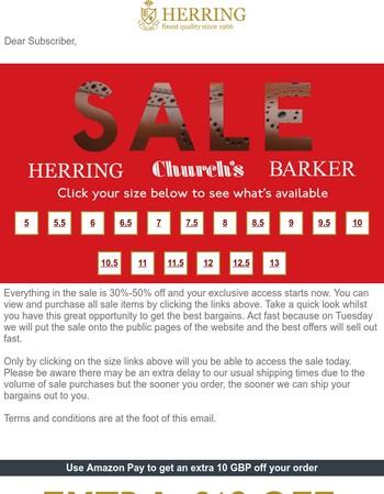 Herring Summer Sale 2017 is now on