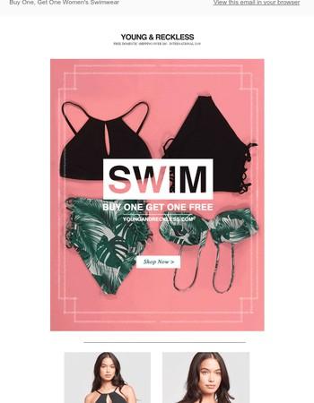 Buy One, Get One Ladies Swimwear