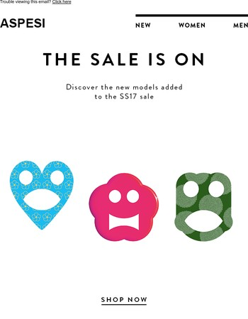New products added to the sale, up to 40% off