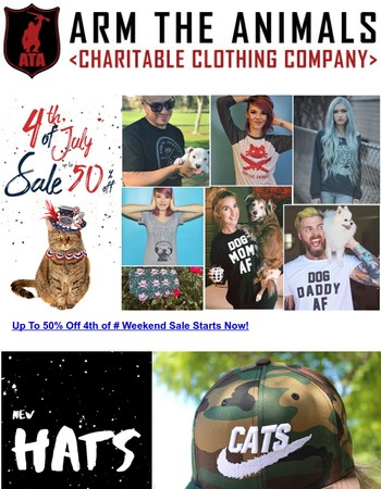 Last Call Up To 50% Off 4th of July Weekend Sale!