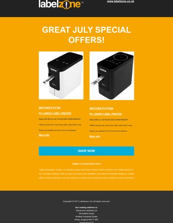 Great July Special Offers