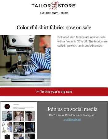 Tailor Store UK Newsletter