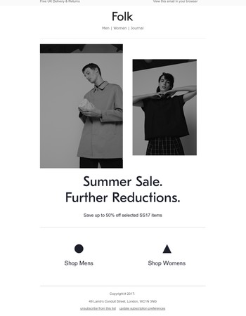 Folk | Summer Sale | Further Reductions