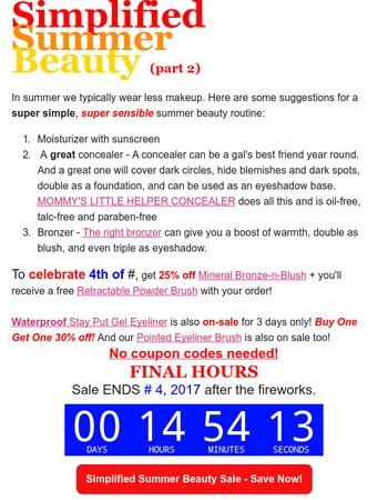 Mommy Makeup Newsletter