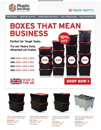 Get 10% Off Loadhog Tough Task Boxes - Two Weeks Only