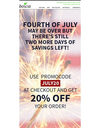 20% OFF your purchase!!