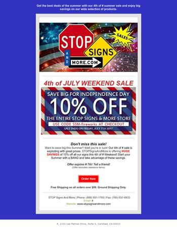 Don't miss this incredible 4th of July extended sale!