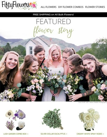 This DIY Bride Kept Her Flowers Simple and the Results Were Gorgeous!