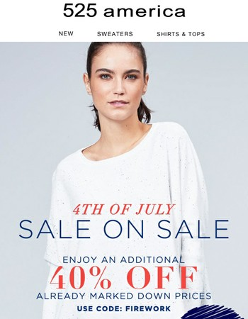 Last Chance to Get An Additional 40% Off
