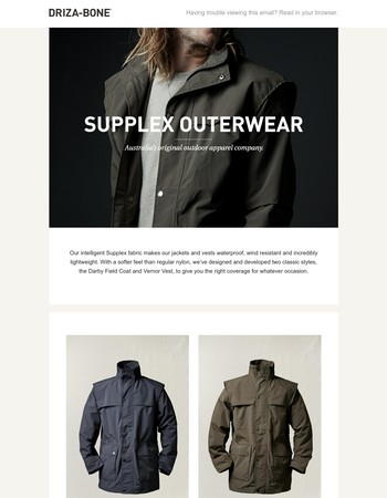 Supplex Outerwear