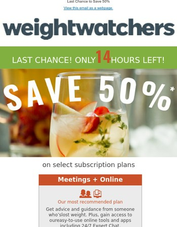 Save 50%: Last Chance - Hours Left!