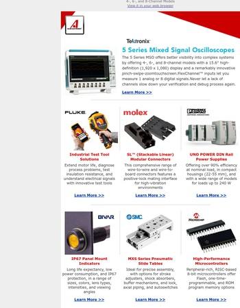 Mixed Signal Oscilloscopes from Tektronix