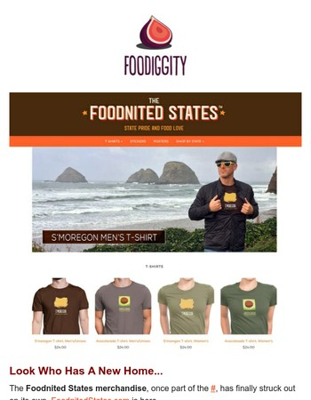 Check Out The New Foodnited States...
