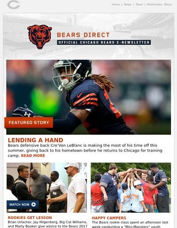 Bears Direct: Lending a Hand