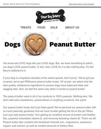 July 6 - Tails and Sales from Three Dog Bakery Headquarters