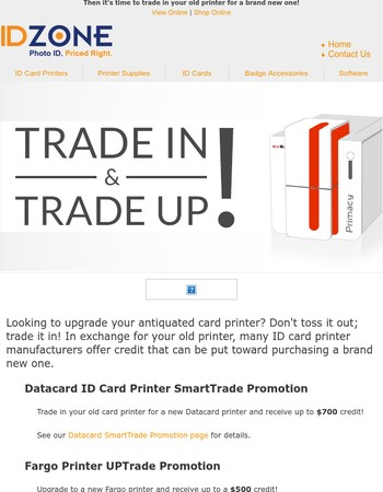 Are you ready for a shiny new ID card printer?