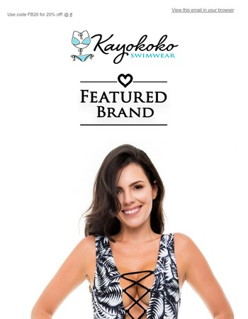 Introducing Zue Swimwear - A Featured Kayokoko Brand