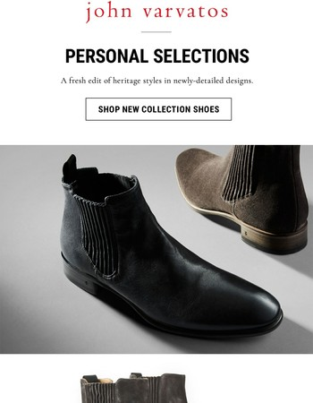 New Standout Shoe Styles