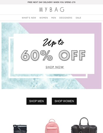 SALE must-haves | Now up to 60% off