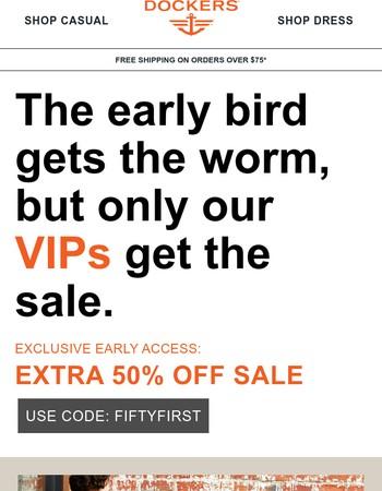 It's true -- VIP's do have more fun