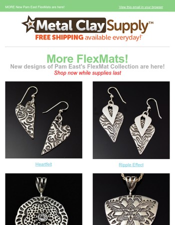 More NEW FlexMats by Pam East