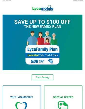 Save Up To $100 Off