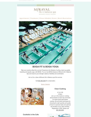 Transform Yourself at Miraval with BOGA