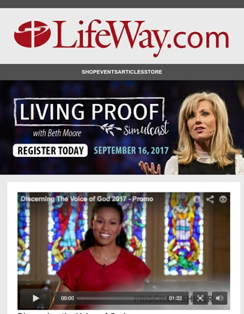 Bring Beth Moore to Your Church or Community!