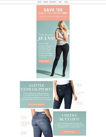 Time for new jeans? Jeanswest fits best!