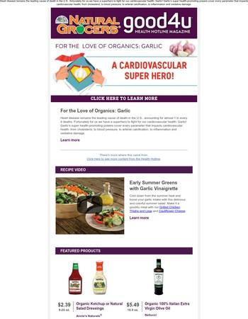 For the Love of Organics: Garlic