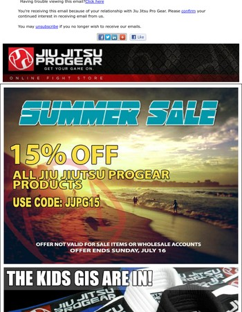 JJPG SUMMER SALE 15%OFF