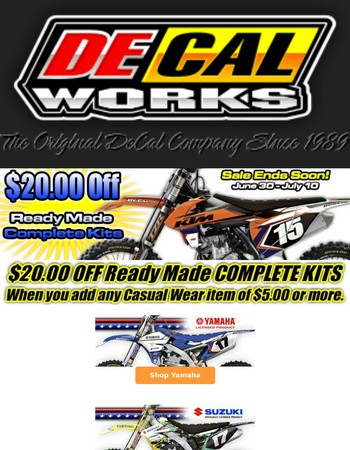 Save On Ready Made Complete Kits!