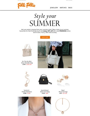 Summer favourites from £20