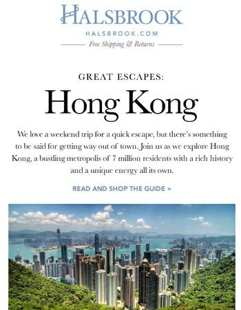Great Escapes: Hong Kong + SALE