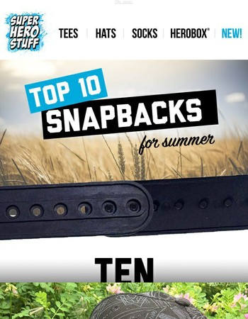 OH SNAP: Top 10 Snapbacks for Summer
