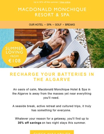 Summer loving in the Algarve