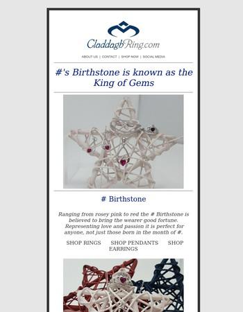 King of Gems - July Birthstone