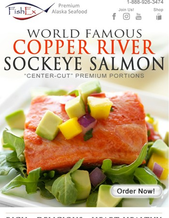 The Freshest Salmon in the World Delivered to Your Home