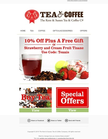 10% OFF over 1000 Tea + FREE GIFT, Ends at Midnight Today