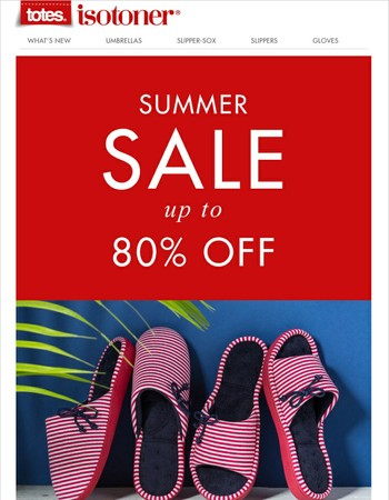 totes ISOTONER : More Reductions on Slippers and Socks.