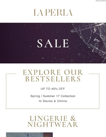 Summer Sale - Discover our Bestsellers